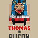 Thomas to Busan by gradydraws