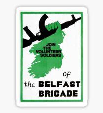 IRA poster Sticker