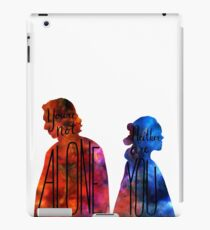"""""""You're Not Alone."""" Rey - Kylo (transparent) iPad Case/Skin"""