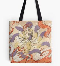 Nine Tailed Fox Tote Bag
