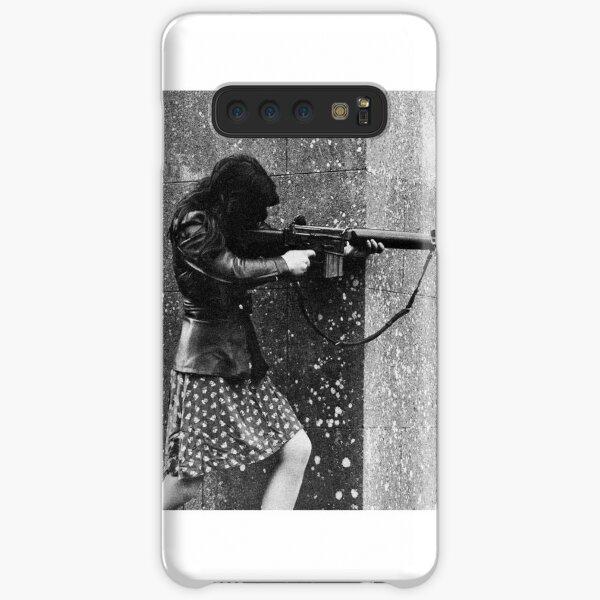 Female IRA fighter Samsung Galaxy Snap Case