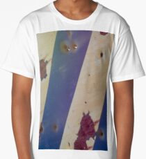 Rusty bullet riddled sign  Long T-Shirt