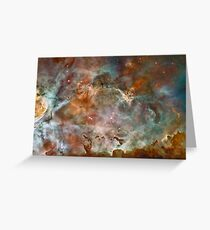 Star Birth and Death Hubble Telescope Photo Greeting Card