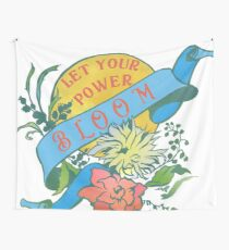 Let Your Power Bloom Tapestry