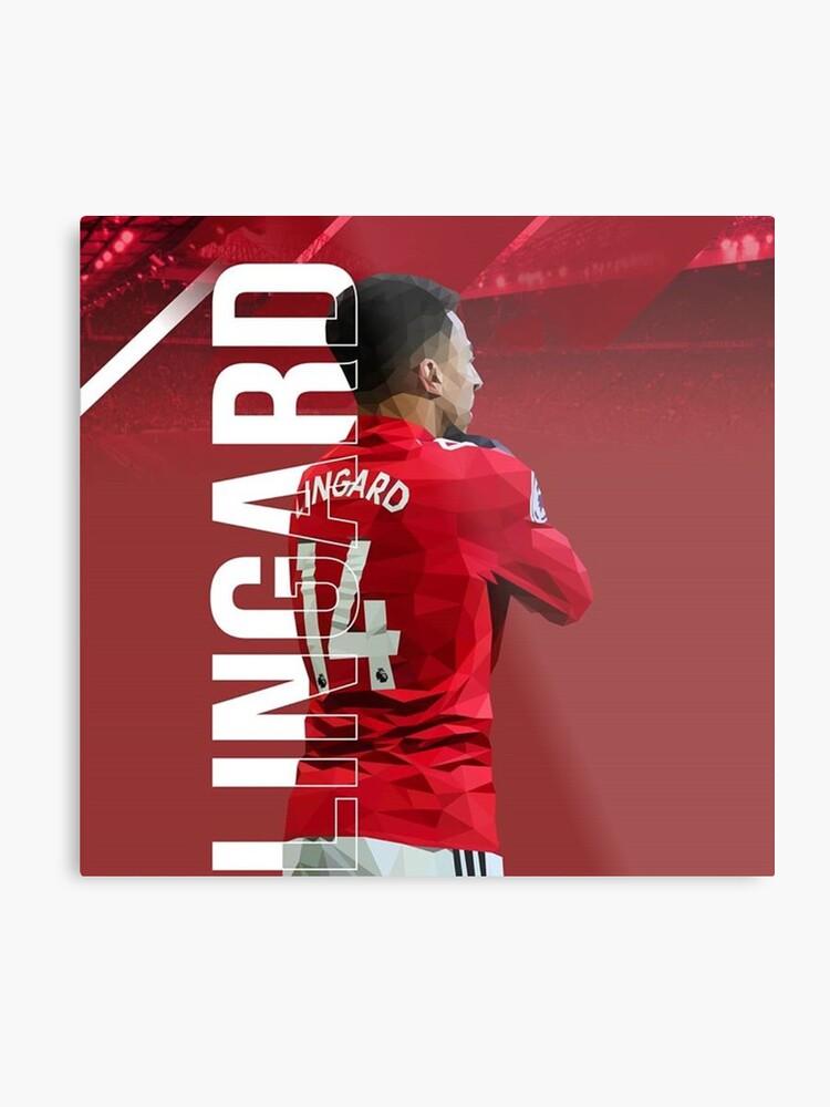 san francisco 1ffde 46033 Jesse Lingard of Manchester United Wakanda forever Celebration | Metal Print