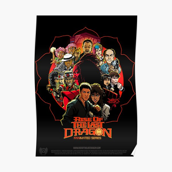 RISE OF THE LAST DRAGON Poster