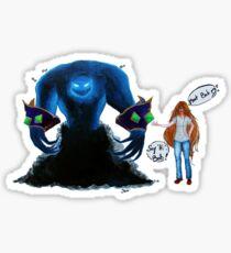 Bob, the Voidwalker Sticker