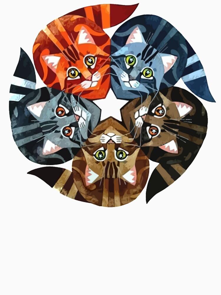 Gatos guerreros de elmerowens