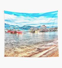 Beach Day at Subic Bay Wall Tapestry