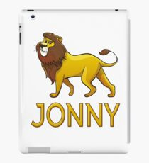 Jonny Lion Drawstring Bags iPad Case/Skin