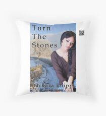 Turn The Stones by Barbara Phipps Throw Pillow