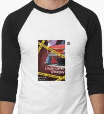 Undercover Wiseguy by M.M. Cox Men's Baseball ¾ T-Shirt