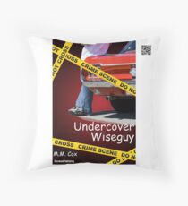 Undercover Wiseguy by M.M. Cox Throw Pillow