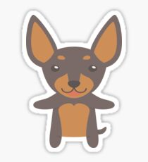 Miniature Pinscher Sticker