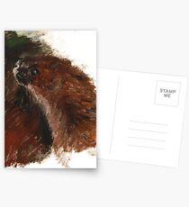 Totem Kolonok (Siberian weasel) Postales