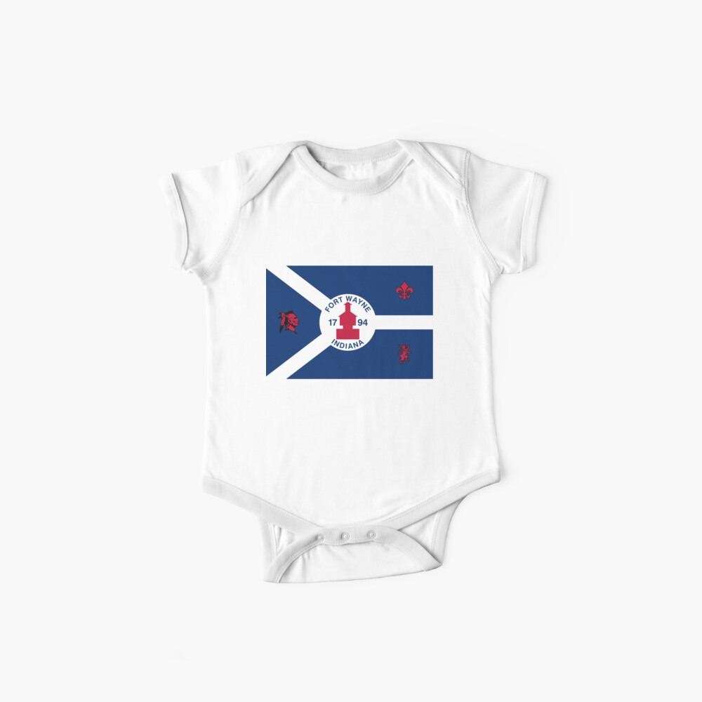 Flag of Fort Wayne, Indiana Baby One-Piece