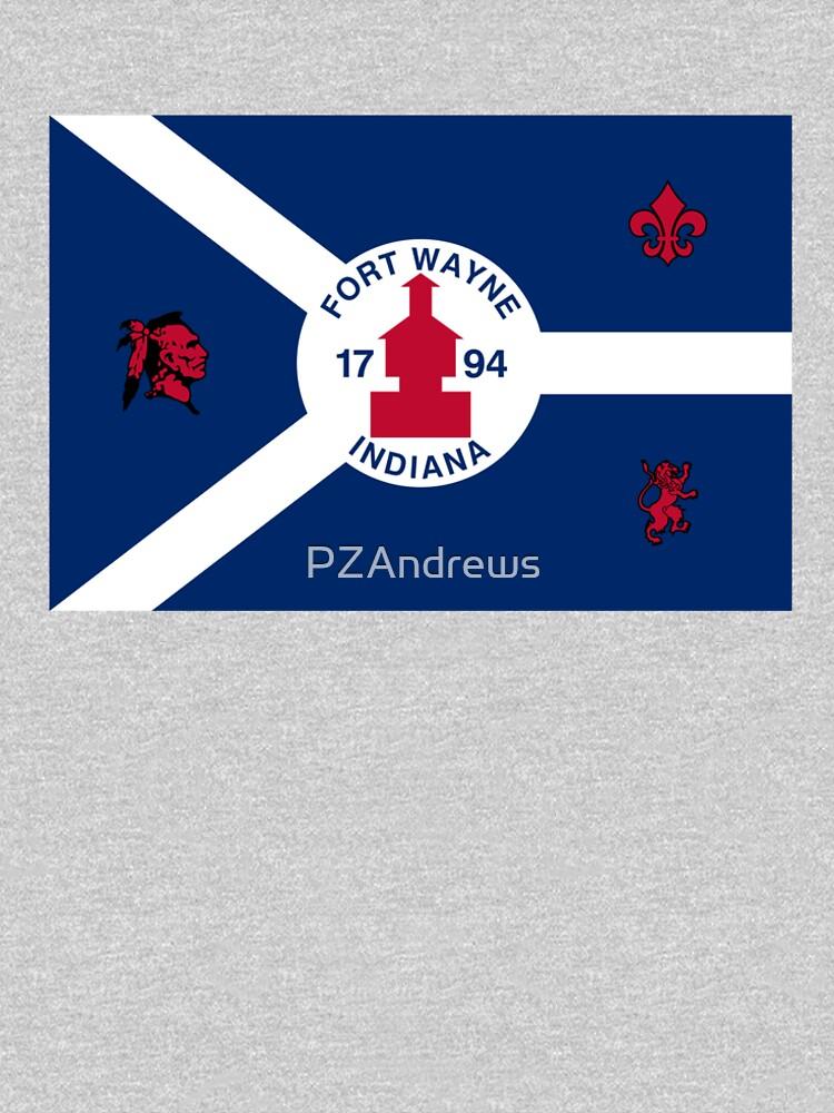Flag of Fort Wayne, Indiana by PZAndrews