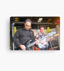 Paul Vanzella rocks out! Canvas Print