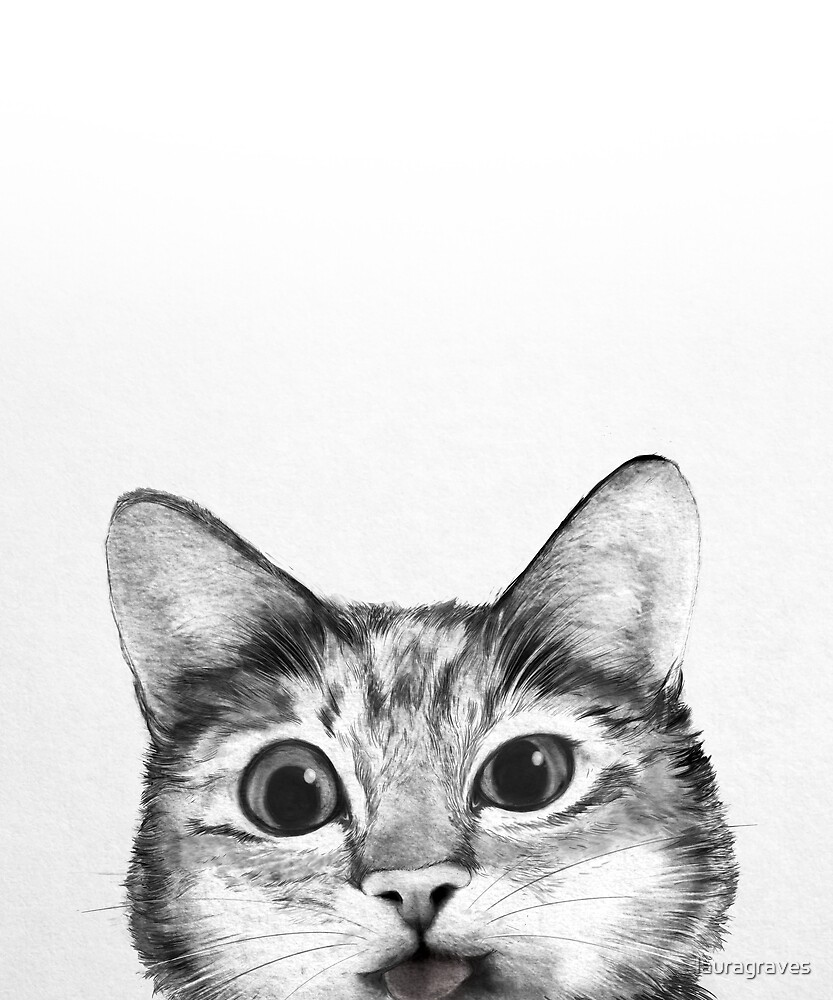 silly cat by lauragraves