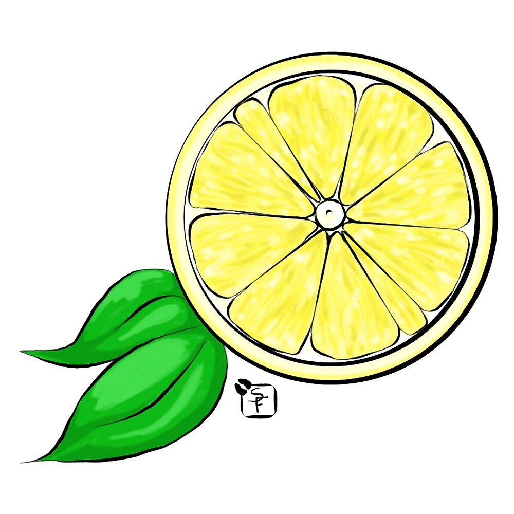 Half a Lemon by SonneFaunArt