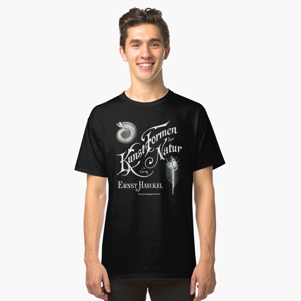 Ernst Haeckel Kunst Formen Der Natur  Classic T-Shirt Front