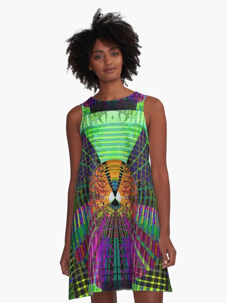Shakuhachi A-Line Dress Front