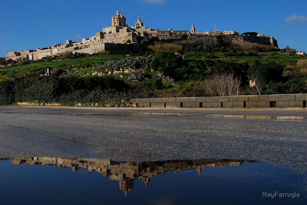 Mdina Reflaction by RayFarrugia