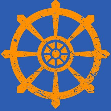 Dharmachakra Wheel by f2c15