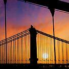 New York Sunset 9 by Alex Preiss