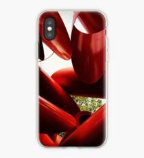 Red Sculpture iPhone Case