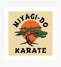 MIYAGI-DO - KARATE KINDER Kunstdruck