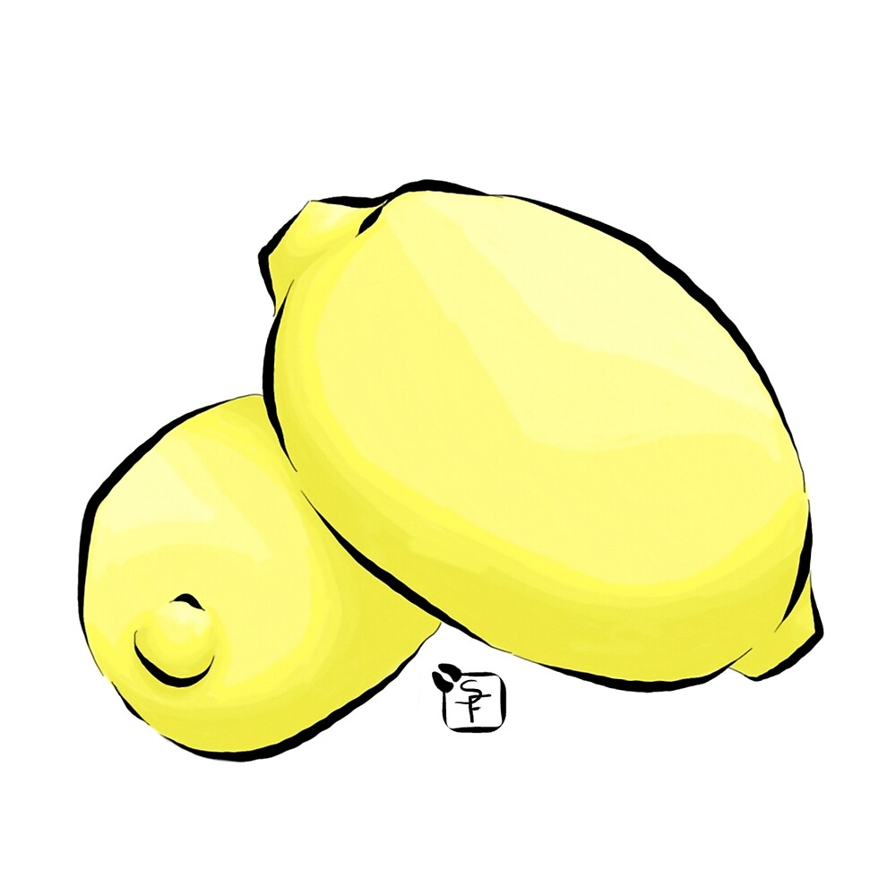Two Lemons by SonneFaunArt