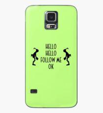 Abe's Hello (Black Design) Case/Skin for Samsung Galaxy