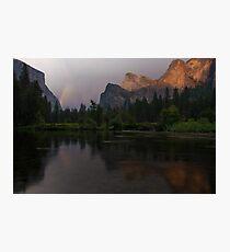 Valley Rainbow Photographic Print