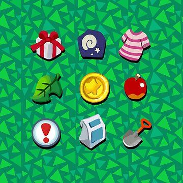 Animal Crossing- Full Pockets by Ivegotartitude