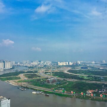 View Of Song Sai Gon River In Ho Chi Minh City by urbanfragments