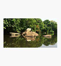 Lobé River Reflections Photographic Print