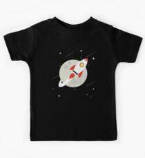 Bitcoin zum Mond Shirt - Bitcoin HODL BTC Crypto Kinder T-Shirt