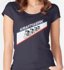 KRAFTWERK - TOUR DE FRANCE Women's Fitted Scoop T-Shirt