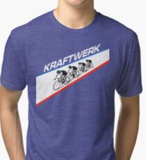 KRAFTWERK - TOUR DE FRANCE Tri-blend T-Shirt