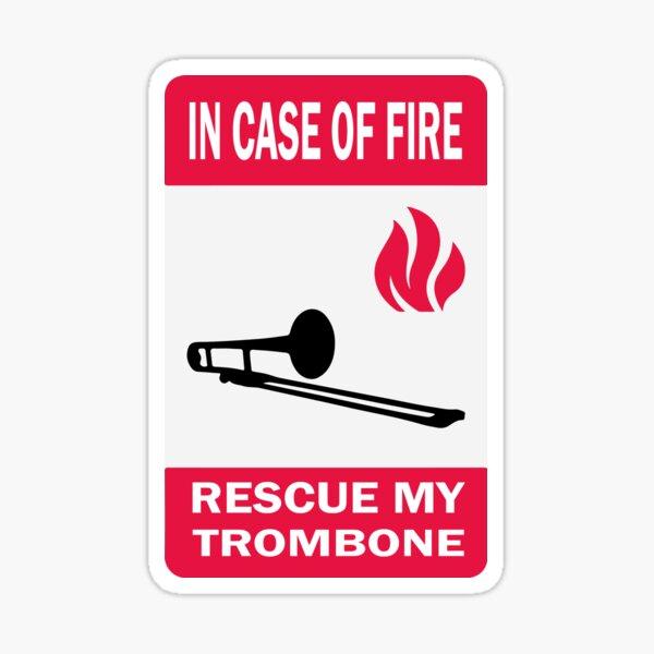 Rescue my trombone Sticker