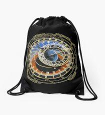 Astronomical Clock Drawstring Bag
