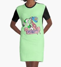 NESBITT Graphic T-Shirt Dress