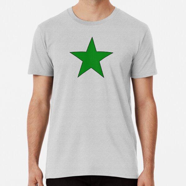 Green Esperanto Star Premium T-Shirt