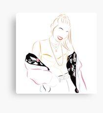 Hayley Kiyoko Canvas Print