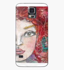 Monoprint Feminine Attitudenal Case/Skin for Samsung Galaxy