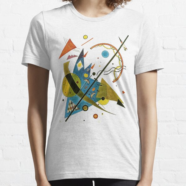 HD Arch in Point,  by Wassily Kandinsky. 1923. Expressionism  Essential T-Shirt