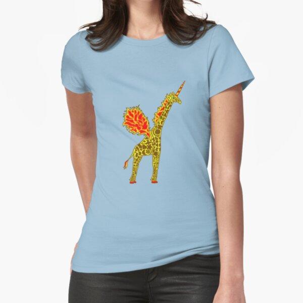 Giralicorn  Fitted T-Shirt