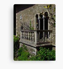 The Balcony, Iford Manor Gardens Leinwanddruck