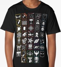 Exclusive Rainbow Six Siege Icon Compilation Long T-Shirt